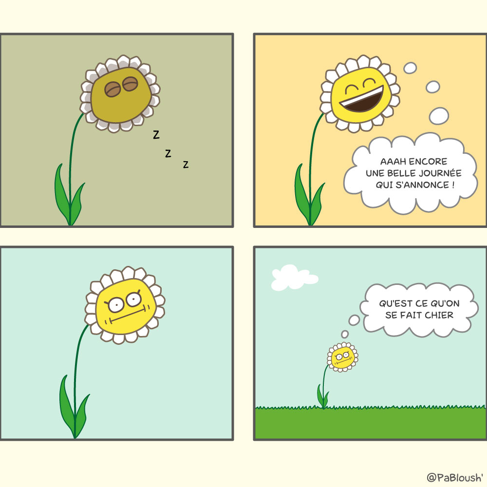fleur,journee,humour,bd