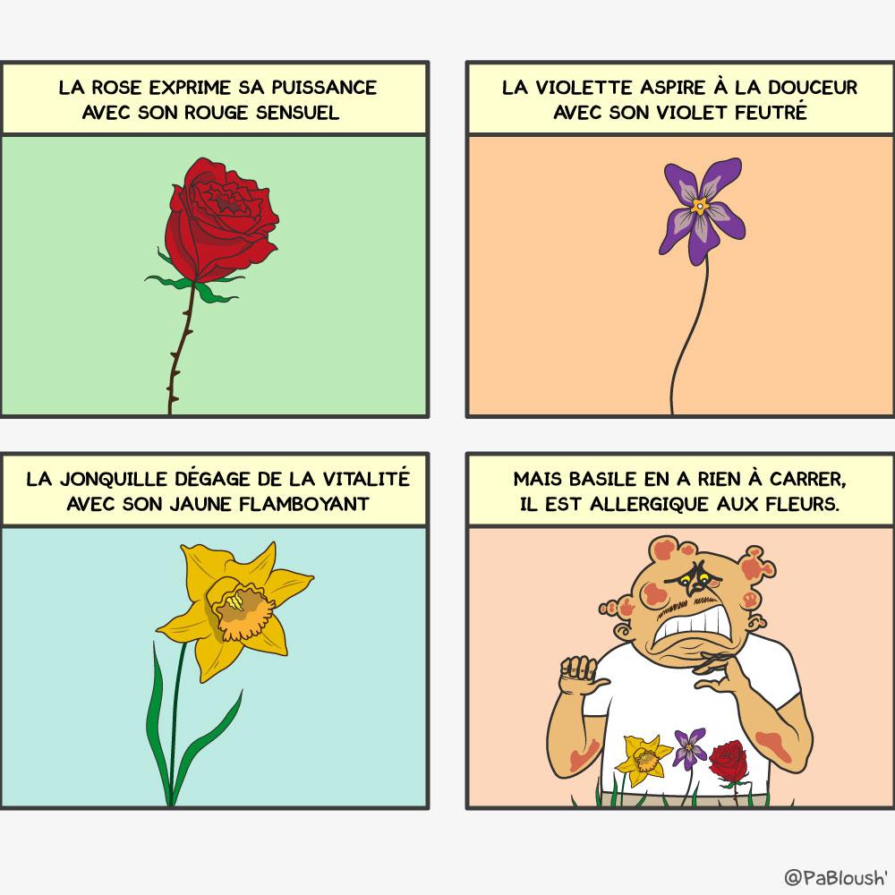 histoire,fleurs,humour,bd,